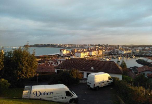 Duhart déménagement à Saint Jean de Luz